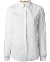 weißes Businesshemd von Burberry