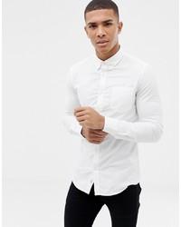 weißes Businesshemd von Burton Menswear