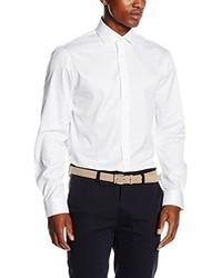 weißes Businesshemd von Calvin Klein