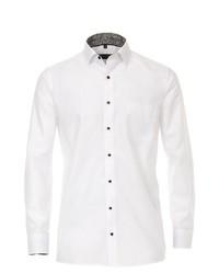 weißes Businesshemd von Casamoda