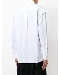 weißes Businesshemd von Cédric Charlier