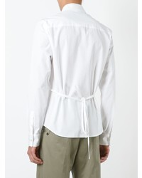 weißes Businesshemd von Chalayan
