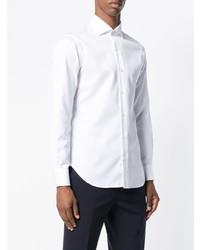weißes Businesshemd von Barba