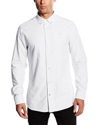 weißes Businesshemd von Crew Clothing