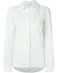 weißes Businesshemd von Diane von Furstenberg