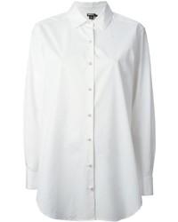 weißes Businesshemd von DKNY