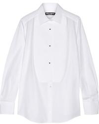 weißes Businesshemd von Dolce & Gabbana
