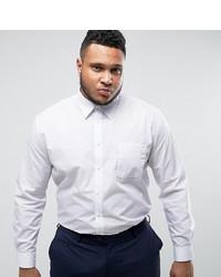 weißes Businesshemd von Duke