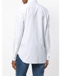 weißes Businesshemd von Ermanno Scervino