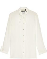 weißes Businesshemd von Gucci
