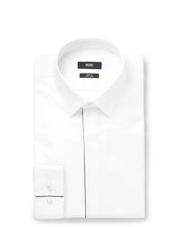weißes Businesshemd von Hugo Boss