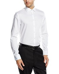 weißes Businesshemd von Jacques Britt