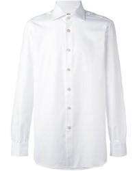 weißes Businesshemd von Kiton