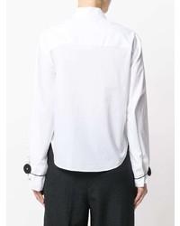 weißes Businesshemd von MM6 MAISON MARGIELA