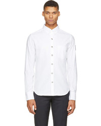 weißes Businesshemd von Moncler