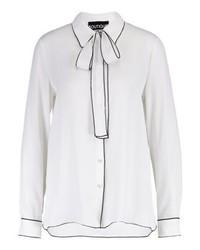 weißes Businesshemd von Moschino