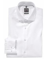 weißes Businesshemd von Olymp