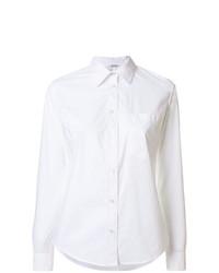 weißes Businesshemd von P.A.R.O.S.H.