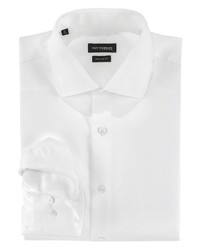 weißes Businesshemd von Roy Robson