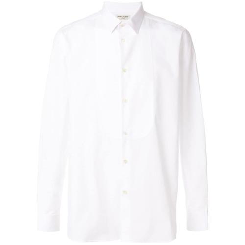 weißes Businesshemd von Saint Laurent