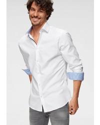 weißes Businesshemd von Selected Homme