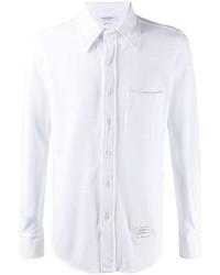 weißes Businesshemd von Thom Browne