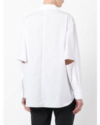 weißes Businesshemd von Yohji Yamamoto