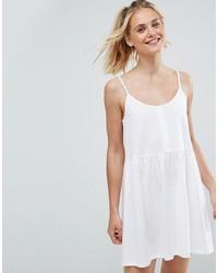 weißes Camisole-Kleid von Asos