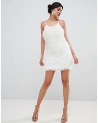 weißes Camisole-Kleid von Glamorous