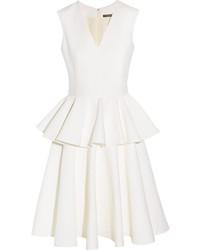 weißes Cocktailkleid von Alexander McQueen