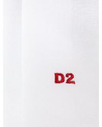 weißes Einstecktuch von DSQUARED2