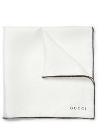weißes Einstecktuch von Gucci
