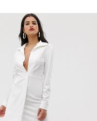 weißes figurbetontes Kleid von Asos Tall