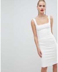 weißes figurbetontes Kleid von Vesper