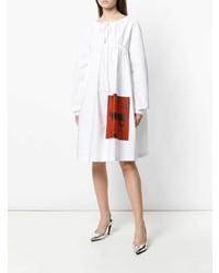 weißes Folklore Kleid von Calvin Klein 205W39nyc