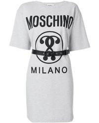 weißes Freizeitkleid von Moschino