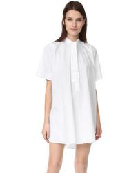 weißes gerade geschnittenes Kleid von Maison Margiela