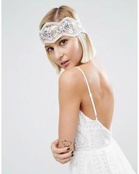 weißes Haarband von Asos