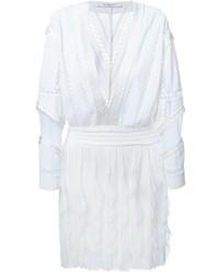 weißes Häkel Folklore Kleid von Givenchy