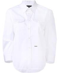 weißes Hemd von Dsquared2