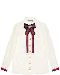 weißes Hemd von Gucci