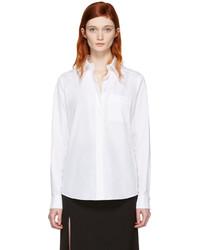 weißes Hemd von Lanvin