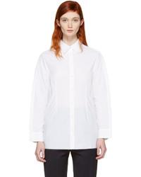 weißes Hemd von Maison Margiela