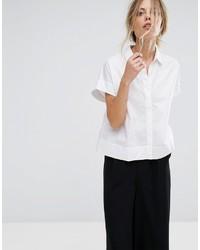 weißes Hemd von Mango