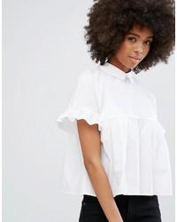 weißes Hemd von Only