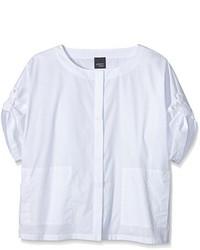 weißes Hemd von Persona by Marina Rinaldi
