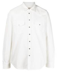 weißes Jeanshemd von Diesel
