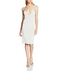weißes Kleid von Boohoo