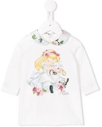 weißes Kleid von MonnaLisa