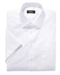 weißes Kurzarmhemd von Classic